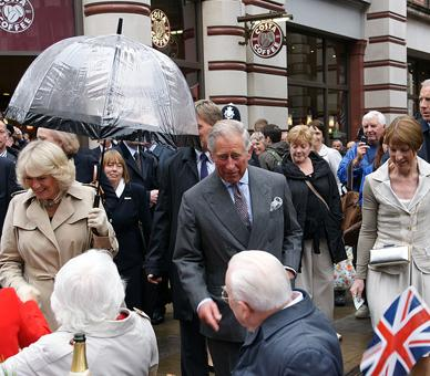 The Big Jubilee Lunch in Piccadilly. ©Press Association